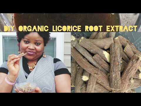 DIY ORGANIC LICORICE ROOT EXTRACT FOR ACTIVE SKIN LIGHTENING,DARK UNDER EYE CIRCLE, HYPERPIGMENT
