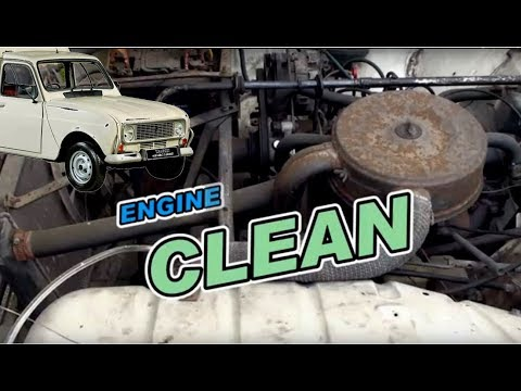 Old car engine decarbonisation HHO cleaning - visual efect