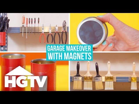Organize Your Garage With Magnets - Easy Does It - HGTV