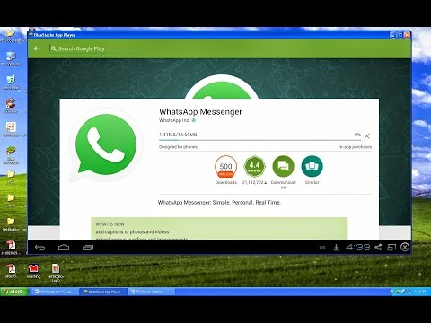 Install  Whatsapp & messanger in your computer ! How to
