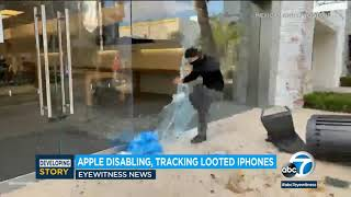 Looted iPhones: Apple is tracking iPhones stolen from its stores | ABC7