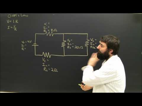 Physics Help: Series and Parallel Circuits Electricity Diagrams Part 4