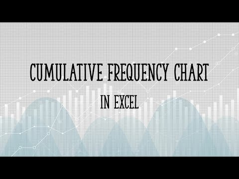 Cumulative Frequency Chart in Excel