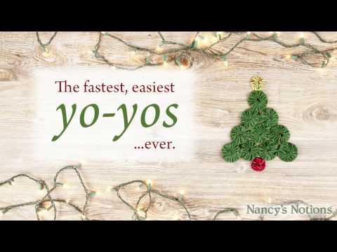 The Easiest Way to Make Fabric Yo-Yos