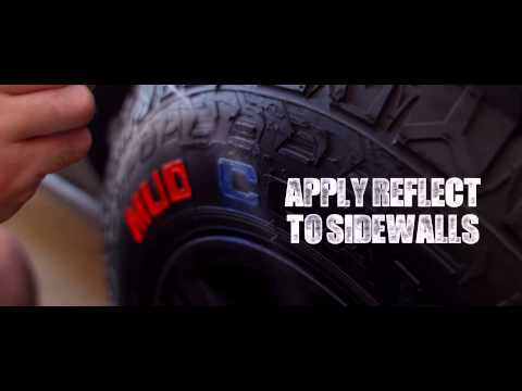 Tire Lettering Kits - How To Paint Your Tires to Perfection