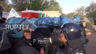 Italy: Tensions high as anti-TAP activists block olive grove