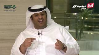 #x202b;عامر عبدالله -  أحرجت من حفاوة الضيافة في جدة ورد الدين صعب في كأس السوبر #ليلة_الذهب#x202c;lrm;