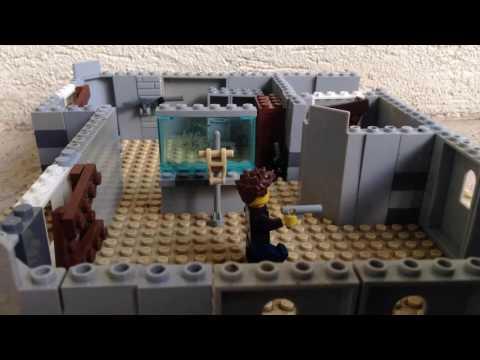 Lego COD black ops 2 zombies ray gun glitch
