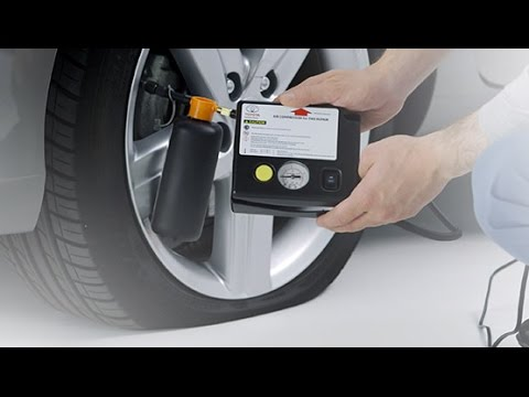 How to use a tyre repair kit