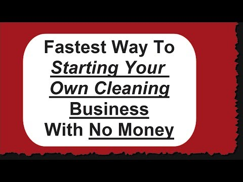 Fastest Way to Starting and Office Cleaning Business