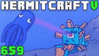 Hermitcraft V 659 Squid Get Wrecked!