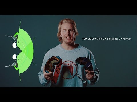 Goggles Technology and Innovation | SHRED ShredWide™ (Oct. 2017)