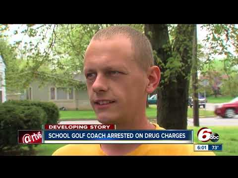 Head varsity golf coach at Greenwood High School arrested on felony drug charges