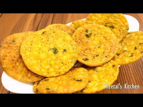 गुजराती कुरकुरी और स्वादिष्ट आटे की मेथी फरसी पूरी | नमकीन मेथी मठरी | Fresh Methi And Aatta Mathri