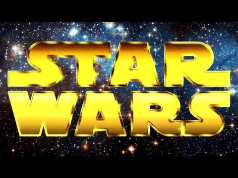 PHOTOSHOP CS6 - Speed Art - Retro Star Wars Text Effects