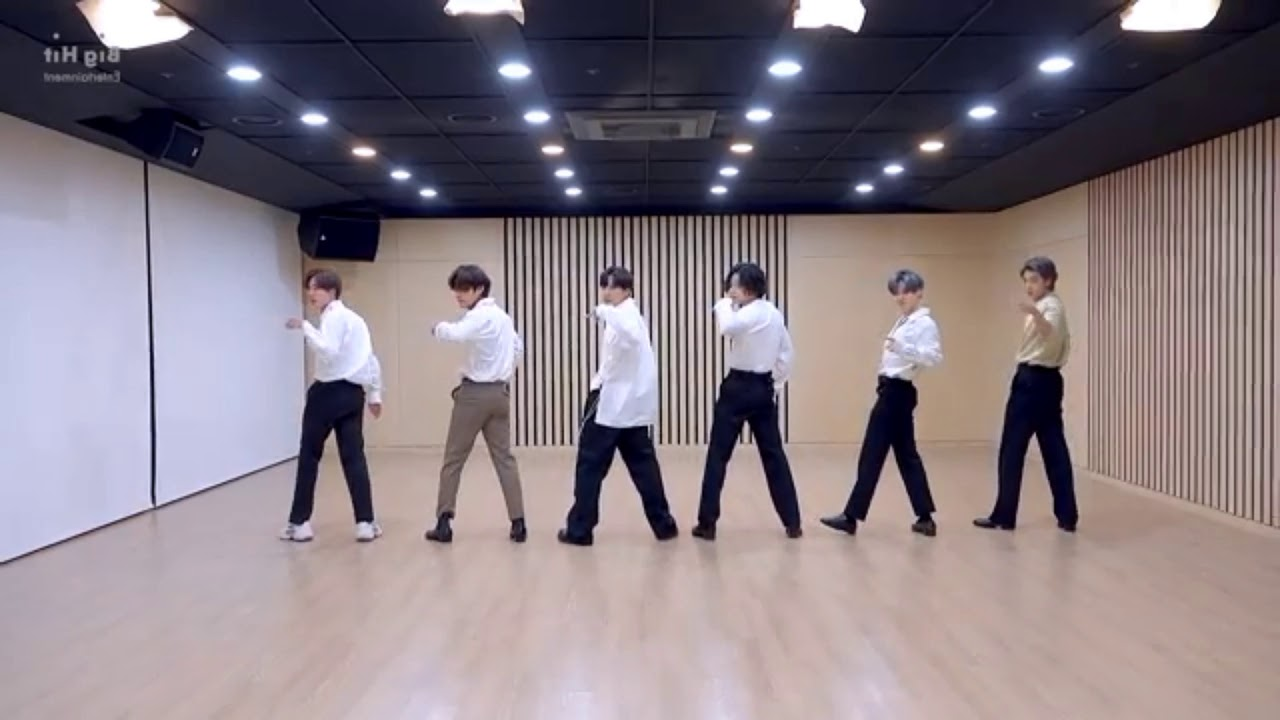 (CHOREOGRAPHY) BTS [방탄소년단] 2020 MMA 'Dynamite' Dance Break Practice Mirrored