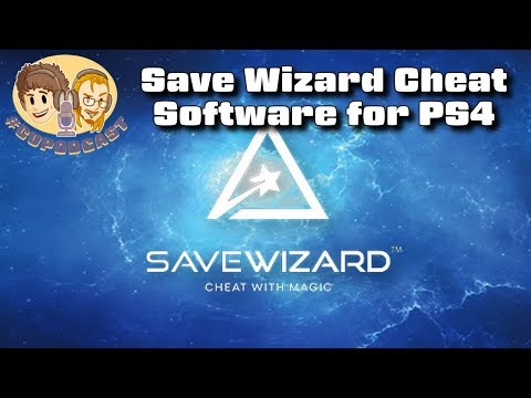 Save Wizard PS4 Cheat Software from Hyperkin - #CUPodcast