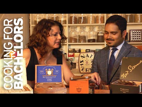 Cigar Etiquette by Cooking for Bachelors TV