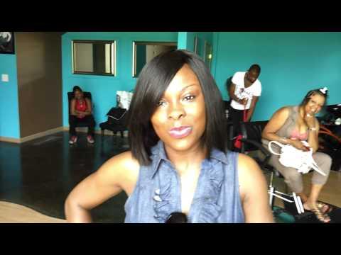 Black Girls Rock Side Swept Bangs