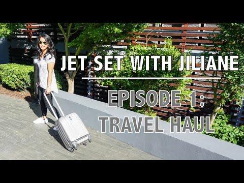 JET SET WITH JILIANE | Ep. 1: Travel Organizer Haul