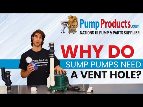 Why Your Sump Pump Needs a Vent Hole