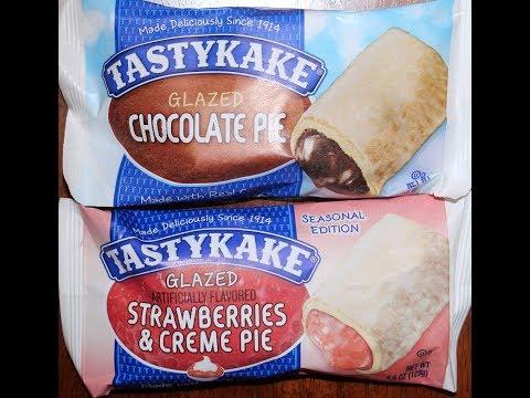 TastyKake: Glazed Chocolate Pie and Strawberries & Crème Pie Review