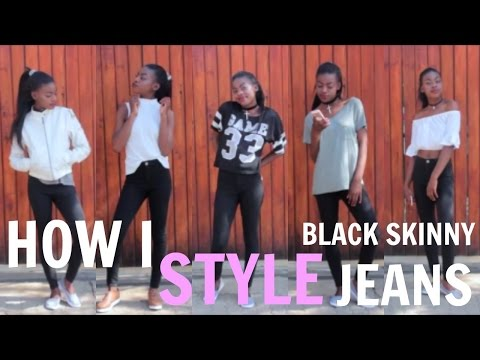 HOW TO STYLE : BLACK SKINNY JEANS!