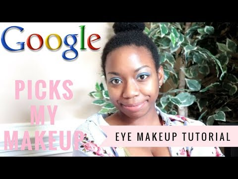 GOOGLE PICKS MY MAKEUP CHALLENGE! (GONE WRONG!!)