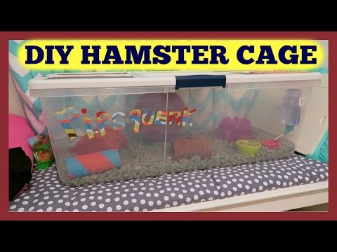 FAMILY VLOG + RUBBERMAID CONTAINER HAMSTER CAGE