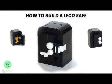 How to Build a Lego Safe - Tutorial