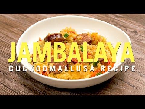 Cuckoo Rice Cooker Recipe: Shrimp and Sausage Jambalaya
