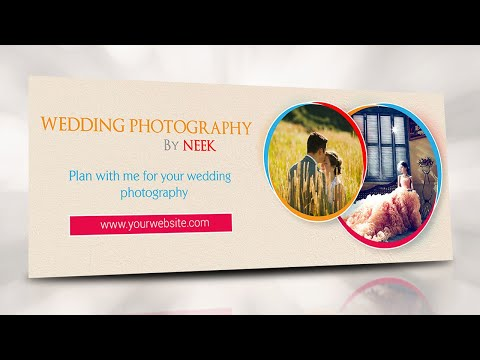 Illustrator Tutorial - Facebook Wedding Photography Cover Photo