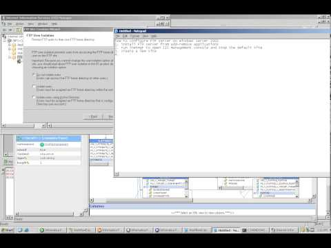 FTP : Configuring FTP Server on Windows 2003 Server