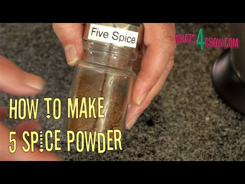 How to Make 5 Spice Powder. Homemade 5 Spice Powder Recipe. Episode #201 with Whats4Chow.com