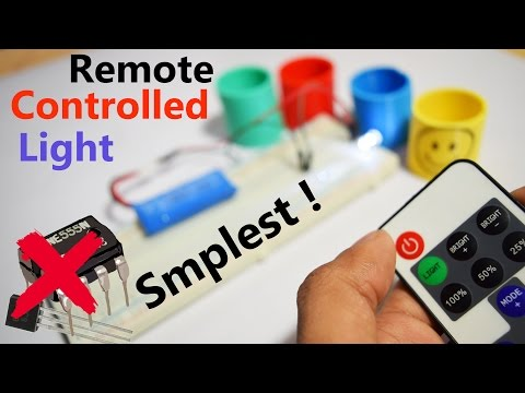 💡Remote Control Led Lights - How to Make it Without Any IC