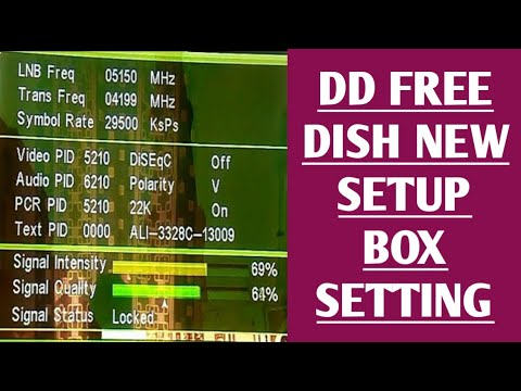 dd free dish set top box new setting 2018