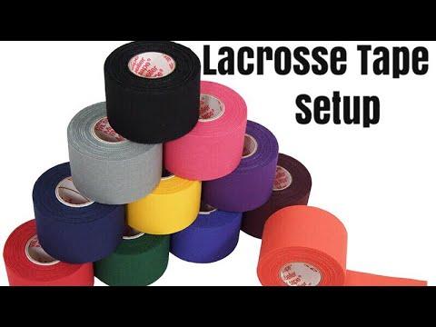 Lacrosse Tape & Stick Setup