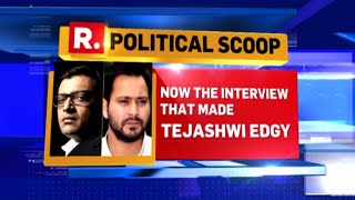 WATCH | The interview that made Tejashwi run