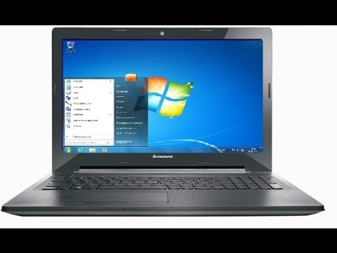 Lenovo G50-30 Windows 7 installation