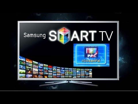 Виджет nStreamPal для Samsung SMART TV