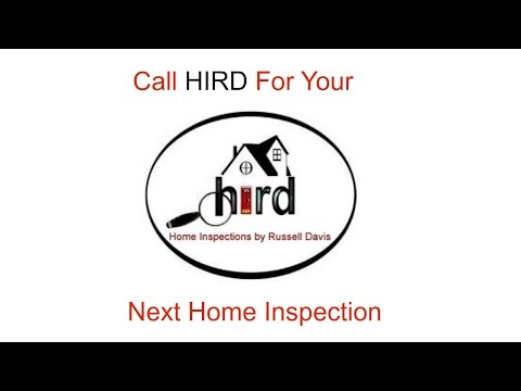 Certified Home Inspector Charlotte NC; HIRD Home Inspections