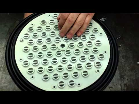 Hayward EC40 Pool Filter Tube Sheet Repair Part 006