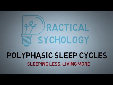 Polyphasic Sleep Cycles - Uberman, Dymaxion, and Everyman Sleep Schedules