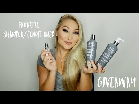 Current Favorite Shampoo/Conditioner + GIVEAWAY (closed) | Mon Shampoing
