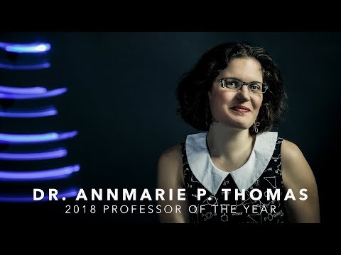 2018 Professor of the Year - Dr. AnnMarie P. Thomas