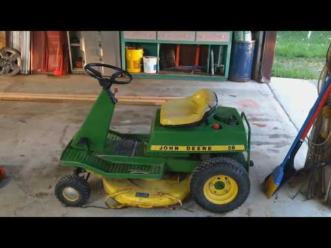 A new addition to the Shade Tree corral, John Deere!