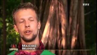 Koh Lanta - Maxime et son faux collier d'immunité trop marrant! (Raja Ampat 2011).mp4