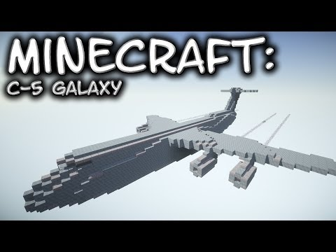Minecraft: C-5 Galaxy Tutorial