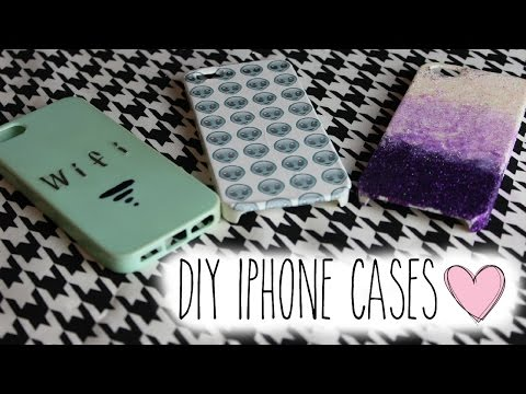 DIY | iPhone Cases!