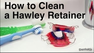 How To Clean A Hawley Retainer Wire And Plastic Retainer